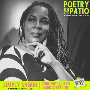 Poetry on the Patio | Open Mic hosted by Simply Sherri