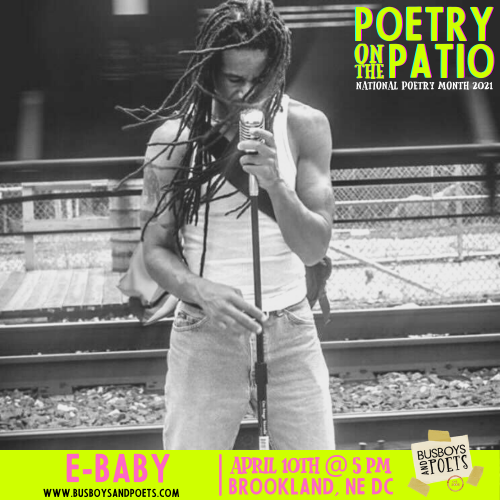 Poetry on the Patio | Open Mic hosted by E-baby