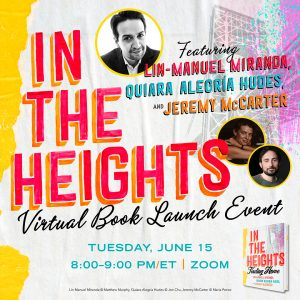 Busboys and Poets Books Presents IN THE HEIGHTS with Lin-Manuel Miranda