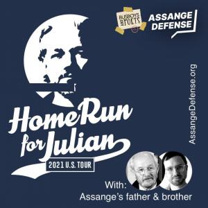 #HomeRun4Julian :  US Tour to Demand Julian Assange's Freedom