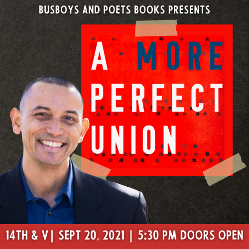 Busboys and Poets Books Presents A MORE PERFECT UNION with Adam Taylor