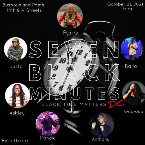 Seven Black Minutes DC: A Comedy Show