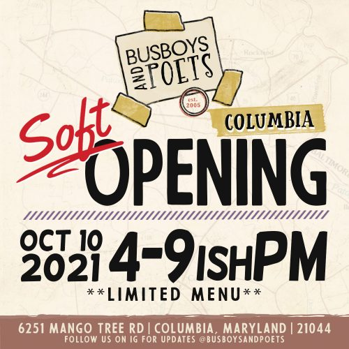 Busboys and Poets Columbia - Soft Opening Week